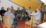 Zdjęcie z wyjazdu integracyjnego zespołu pracowników Schroniska św. Brata Alberta dla Bezdomnych Mężczyzn we Wrocławiu-Tarnogaju